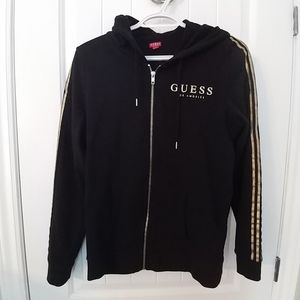 Black and gold Guess hoodie